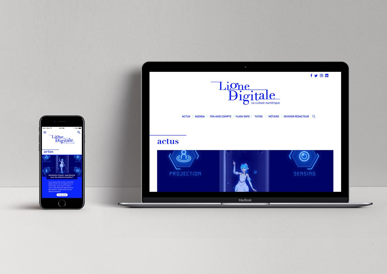 Ligne digitale